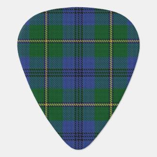 スコットランドのタータンチェックの一族のJohnstoneジョンソンの音 ギターピック