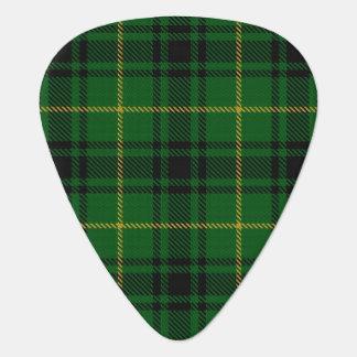 スコットランドのタータンチェックの一族のMacArthurアーサーの音 ギターピック