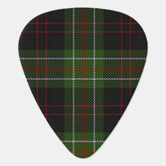スコットランドのタータンチェックの一族のMacDiarmidの音 ギターピック