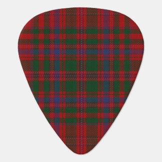 スコットランドのタータンチェックの一族のMacDougallの音 ギターピック
