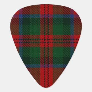 スコットランドのタータンチェックの一族のMacDuffの音 ギターピック