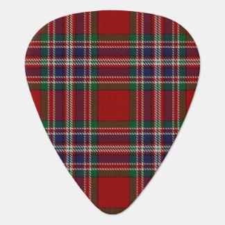 スコットランドのタータンチェックの一族のMacFarlaneの音 ギターピック