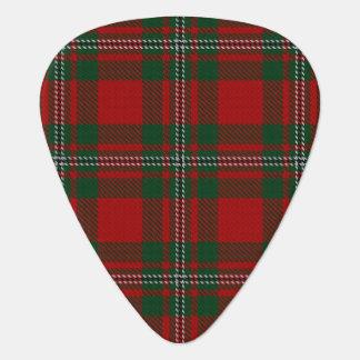 スコットランドのタータンチェックの一族のMacGregor Gregorの音 ギターピック