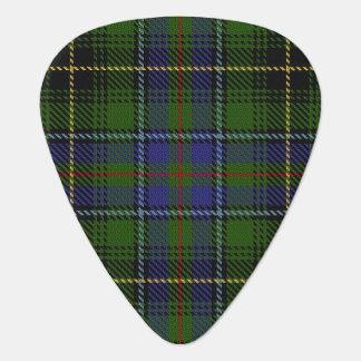 スコットランドのタータンチェックの一族のMacInnesの音 ギターピック