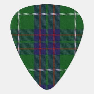 スコットランドのタータンチェックの一族のMacIntyreの音 ギターピック