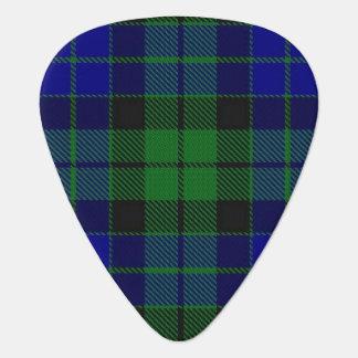 スコットランドのタータンチェックの一族のMacKayの音 ギターピック
