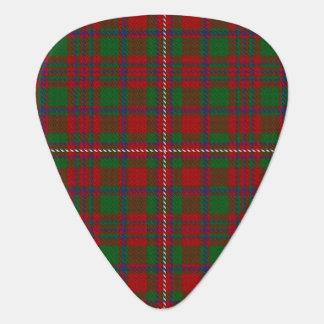スコットランドのタータンチェックの一族のMacKinnonの音 ギターピック