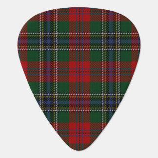 スコットランドのタータンチェックの一族のMacLeanの音 ギターピック