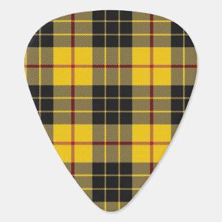 スコットランドのタータンチェックの一族のMacLeodの音 ギターピック