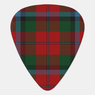 スコットランドのタータンチェックの一族のMacNachtanの音 ギターピック
