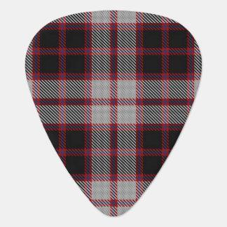 スコットランドのタータンチェックの一族のMacPhersonの音 ギターピック
