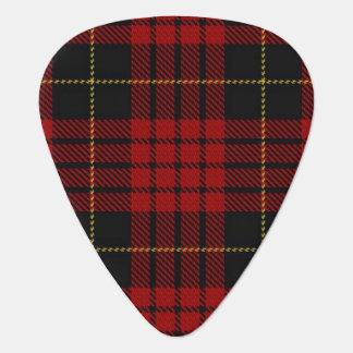 スコットランドのタータンチェックの一族のMacQueenの音 ギターピック