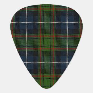スコットランドのタータンチェックの一族のMacRaeの狩りの音 ギターピック