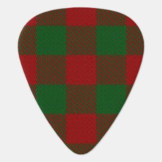 スコットランドのタータンチェックの一族のMoncreiffe Moncriefの音 ギターピック