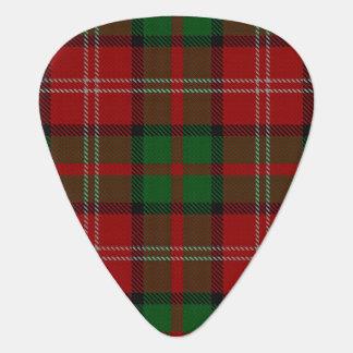 スコットランドのタータンチェックの一族のNisbet Nesbittの音 ギターピック