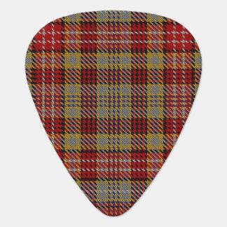 スコットランドのタータンチェックの一族のOgilvieの音 ギターピック