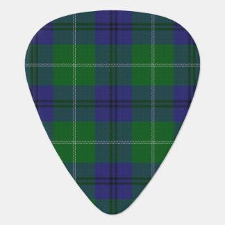 スコットランドのタータンチェックの一族のOliphantの音 ギターピック