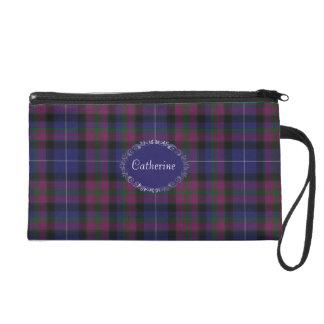 スコットランドのタータンチェック格子縞のかわいらしいプライド リストレット