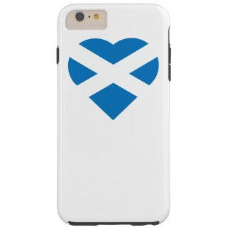 スコットランドのハートの旗のSt Andrewの十字のSaltire Tough iPhone 6 Plus ケース