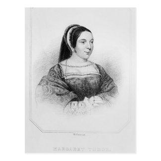 スコットランドのマルグレットTudorの女王のポートレート ポストカード