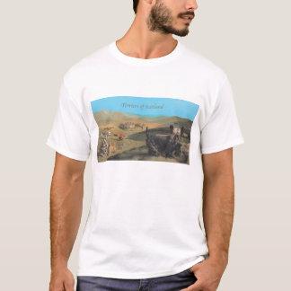 スコットランドのワイシャツのテリア Tシャツ
