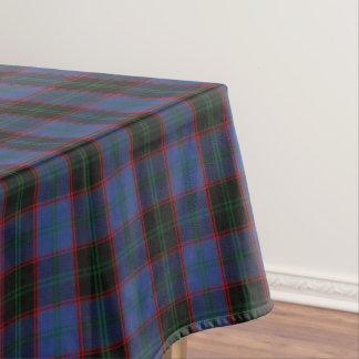 スコットランドの一族によってはタータンチェックが家へ帰ります テーブルクロス