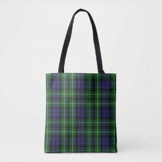 スコットランドの一族のグラハムのタータンチェック格子縞 トートバッグ