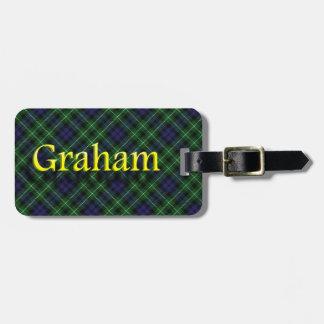 スコットランドの一族のグラハムの荷物のラベル バッグタグ