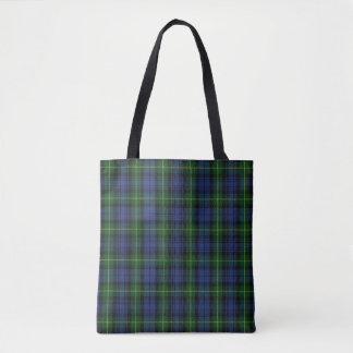 スコットランドの一族のゴードンのタータンチェック格子縞 トートバッグ
