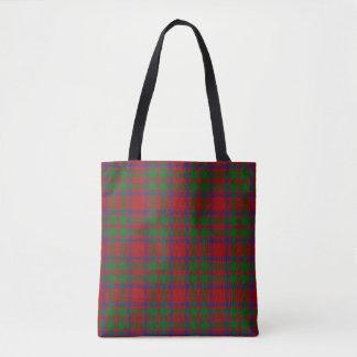スコットランドの一族のマッキントッシュMcIntoshのタータンチェック格子縞 トートバッグ
