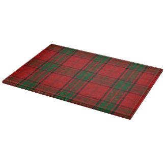 スコットランドの一族のマックスウェルのタータンチェック カッティングボード