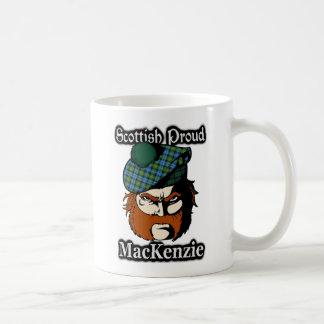 スコットランドの一族のマッケンジーのタータンチェックのスコットランド人 コーヒーマグカップ