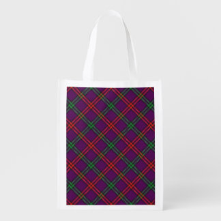スコットランドの一族のモントゴメリー家族のタータンチェック エコバッグ