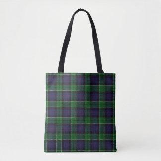 スコットランドの一族のレスリーの狩りのタータンチェック格子縞 トートバッグ
