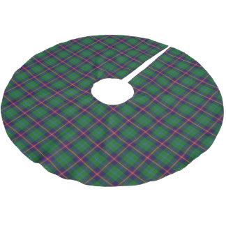 スコットランドの一族の若者のタータンチェック ブラッシュドポリエステルツリースカート