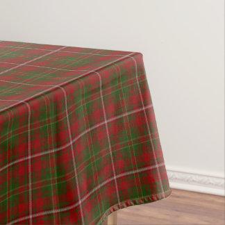 スコットランドの一族はタータンチェックを干し草にします テーブルクロス