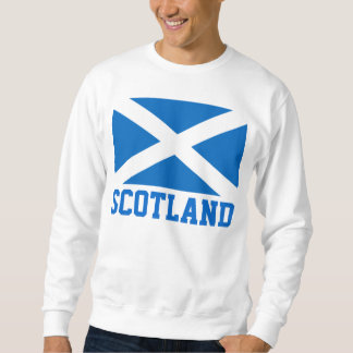 スコットランドの世界の旗 スウェットシャツ