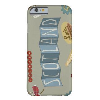 スコットランドの例 BARELY THERE iPhone 6 ケース