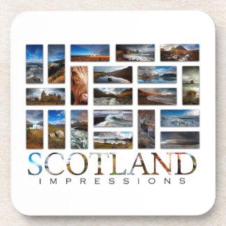スコットランドの印象 コースター