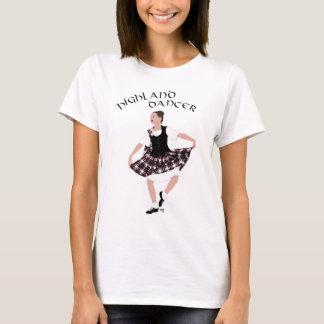 スコットランドの国のダンサー Tシャツ