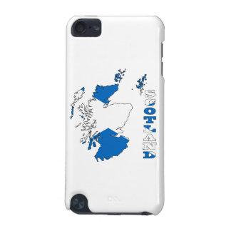 スコットランドの地図の旗 iPod TOUCH 5G ケース
