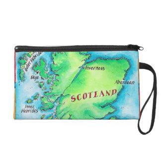 スコットランドの地図 リストレット