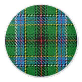 スコットランドの壮大さの一族のダンカンのタータンチェック格子縞 セラミックノブ