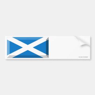スコットランドの宝石のSt Andrewの旗 バンパーステッカー