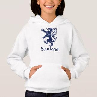 スコットランドの手がつけられないライオンの濃紺