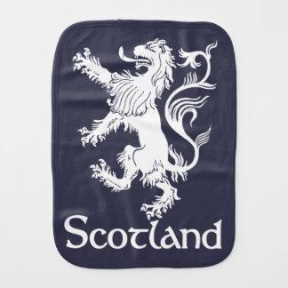 スコットランドの手がつけられないライオンの濃紺 バーブクロス