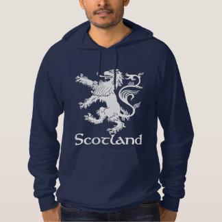 スコットランドの手がつけられないライオンの濃紺 パーカ