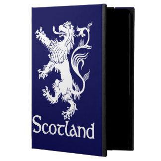 スコットランドの手がつけられないライオンの濃紺 iPad AIRケース