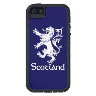 スコットランドの手がつけられないライオンの濃紺 iPhone SE/5/5s ケース
