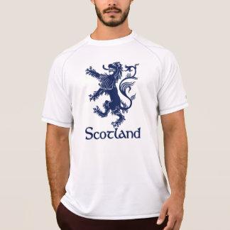 スコットランドの手がつけられないライオンの濃紺 Tシャツ